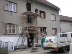 Realizace úspor energie - Obecní dům Pivín