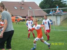 Fotbalový turnaj mladších žáků - 29.6.2013
