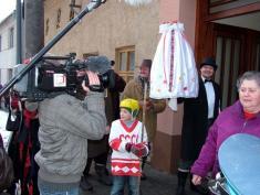 Reportáž zOstatků byla vysílána 10.3.2012 naČT2 vpořadu Folklorika