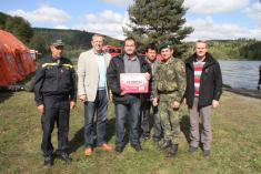 Příspěvek Olomouckého kraje pronaši jednotku SDH - 14.9.2012