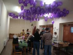 Vypouštění balónků spřáním Ježíškovi - 14.12.2012