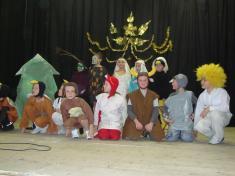 Vystoupení žáků ZŠ Pivín
