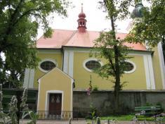 Kaplička Panny Marie - červen 2011
