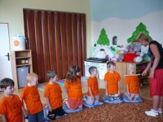 V naší mateřince byly děti slavnostně pasovány napředškoláky - 24.června 2011