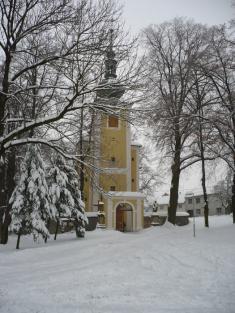 Pivín - leden 2010- kostel sv.Jiří