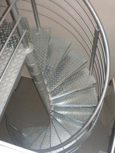 Hasička - nové schody (opraveno 2009)