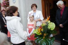 Kytice propaní Klausovou - 1.9. 2010
