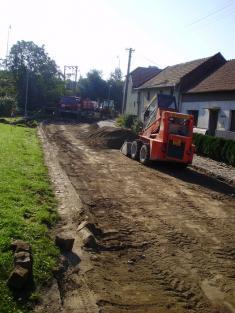 Oprava silnice - 22.9.2010