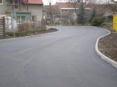 Opravená silnice - 27.11.2010