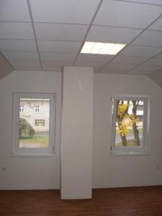 Hasička - interiér - podkroví (po opravě 2009)