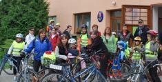 Na bicyklech Němčickem, vyjížďka přes16 obcí mikroregionu scílem vPivíně - 4.9. 2010