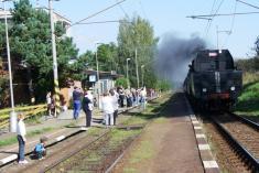 Výročí 140let tratě Nezamyslice - Šternberk - 18.9. 2010