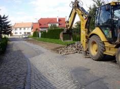 Oprava silnice - 16.9.2010