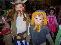 Dětské šibřinky - leden 2009