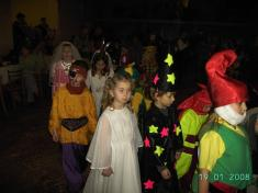 Dětské šibřinky 2008...