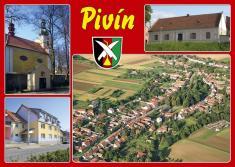 Pohlednice obce Pivín - 2008