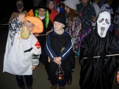 Halloweenská párty vPivíně 31.10.2008