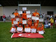 Sportoní olympiáda mateřských škol 2008- 2.místo pronaše borce ...