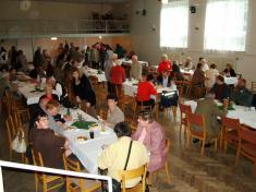 Polední přestávka naoběd vkulturním sále