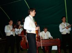 Vystoupení cimbálové muziky Grajcár