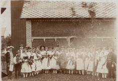 Hasička kolem roku 1908
