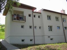 budova lázní - severní pohled