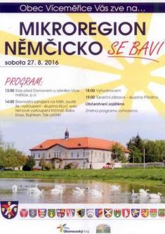 Mikroregion Němčicko se baví 2016