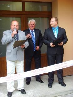 Slavnostní otevření kulturního sálu v Pivíně - 9.5.2015